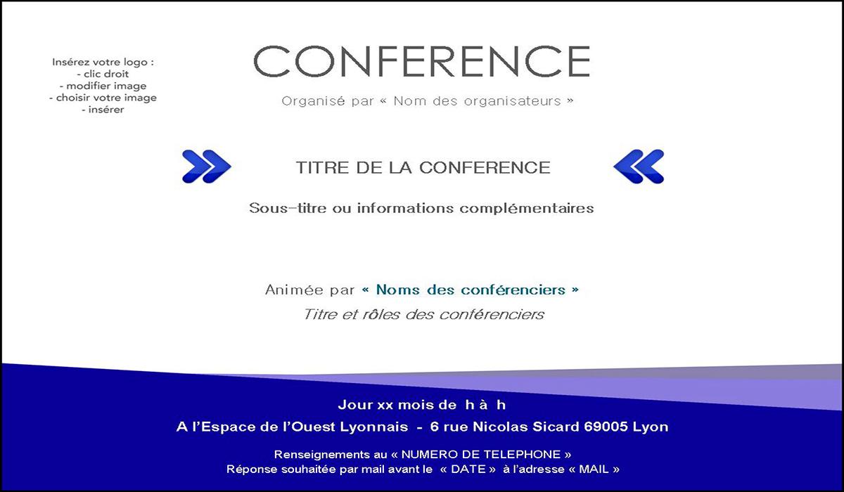 Modeles D Invitation A Envoyer Pour Votre Seminaire Ou Congres A Lyon
