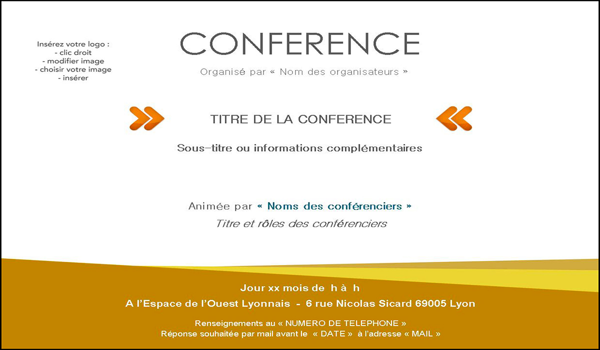 exemple d invitation pour un evenement